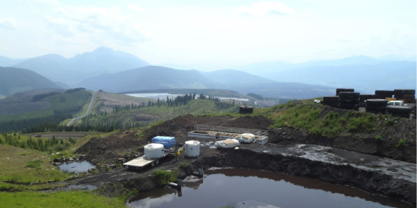 Remote water reuse at a coal mine