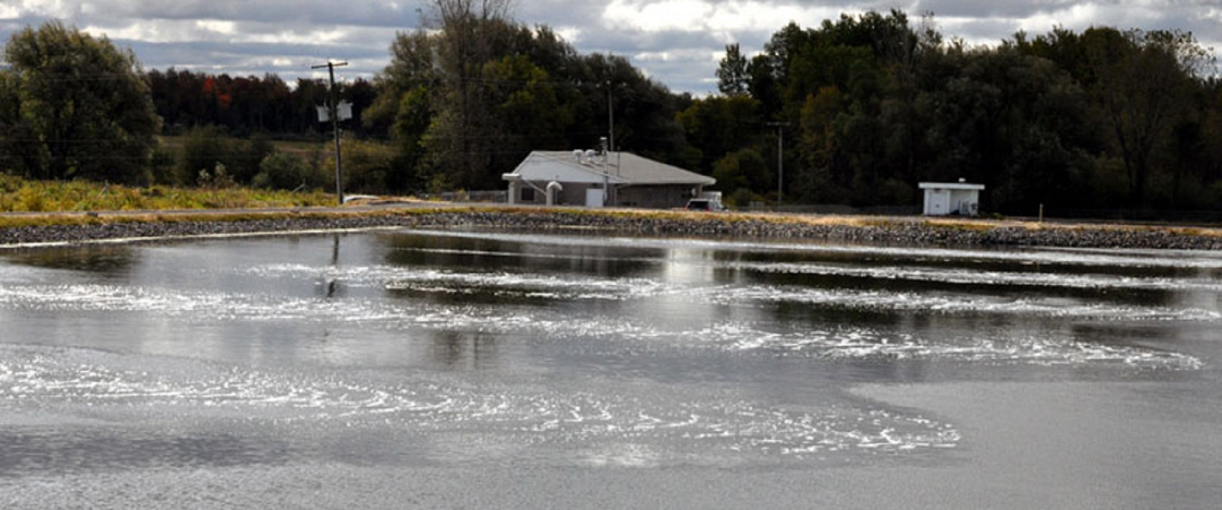 OctoAir is effective for providing wastewater aeration