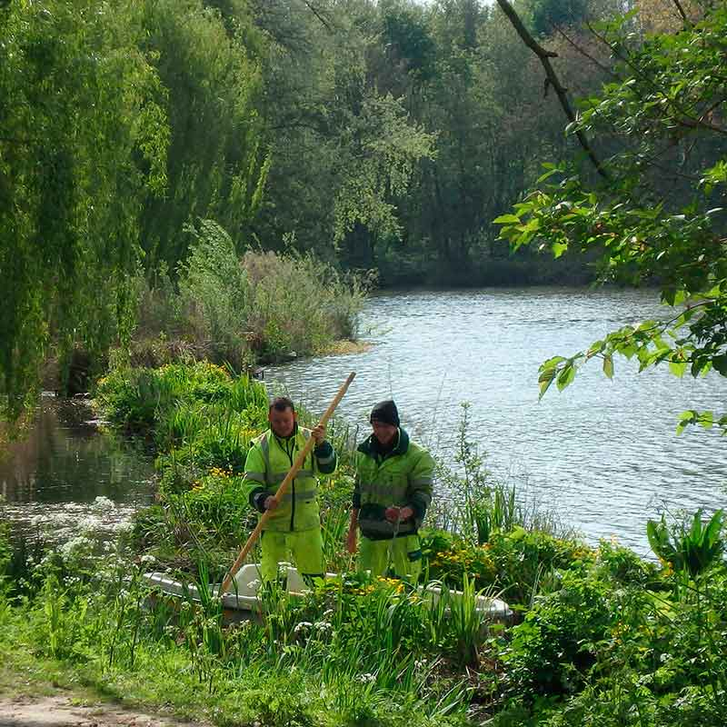 BioHaven used as a floating erosion control also delivers new habitat and water quality benefits