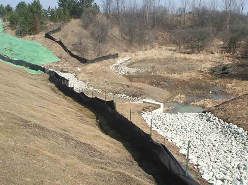 Soil Lynx Mitigates Water Pollution During a Road Construction Project