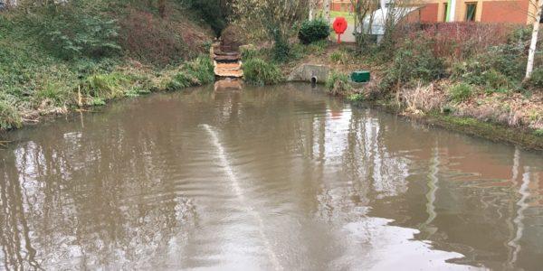Aeration Loughborough Holywell Pond